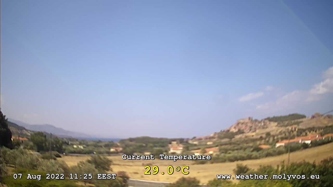 Molyvos Weather Station Webcam